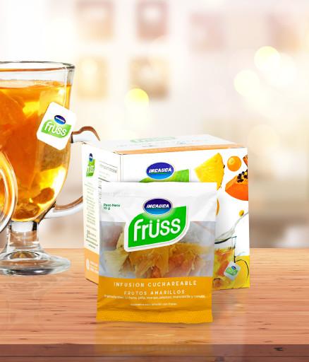 Incauca Früss Infusión Cuchareable Frutos Amarillos